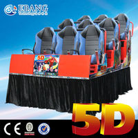 Amazing 7D movies in English free supply for 7d cinema platform