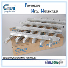 excellent middle temperature tin alloy solder bar 35%sn 65%Pb
