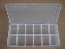 Clear plastic pp box, plastic box dividers