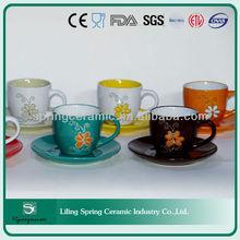 bulk espresso cup and saucer set