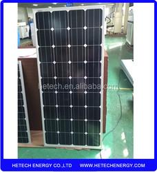 import solar panels from china low price Mono 150watt solar panels for sale