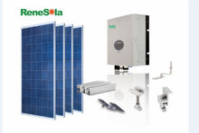 Renesola solar energy system 1kw high efficiency Solar panel racking system kit PV system