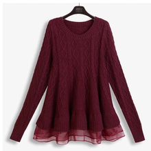 100% cotton Sweater Crop Top for women,ladies Cable knit sweater