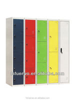 colorful and valuable bedroom metal clothes locker cupboards design