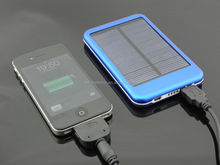 travel product 2015 solar powered cell solar charger power bank 5000mah solar charger