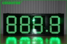 Factory supply 888.8 15iINCH digits format gas price led display