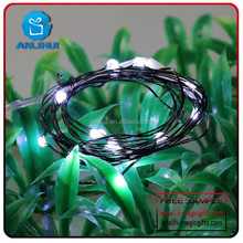 2015 outdoor timer battery operated led string lights with fittings