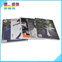 Low cost top quality custom color glossy art paper cheap magazine printing