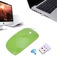 Slim Elegant 2.4GHz Wireless Optical Mouse/Mice + USB 2.0 Receiver For PC Laptop