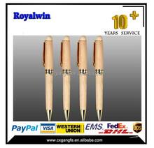 GF-LQ-305 China factory wholesale wood pen/wooden pen