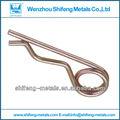 Pasador de enganche clip; clips pasador de enganche