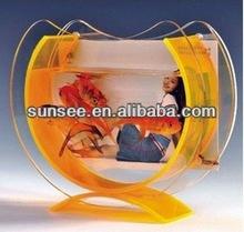 2014 Hot sale artificial fish tank wholesale ,goldfish fish farming tank FT-002