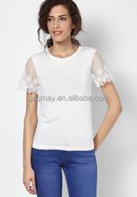 cheap china wholesale clothing girls pink models fashion xl cotton mesh t-shirt online shop alibaba in Russian woman
