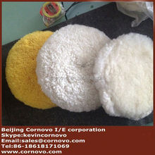 Good quality felt auto buffing pads backing plates