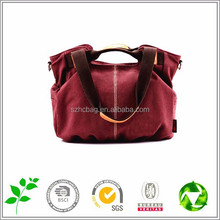 Latest Design Canvas Dual-use bag leisure Canvas bag