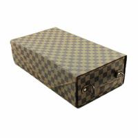 Modern fashion handmade wine box for two bottles cardboard wine carrier