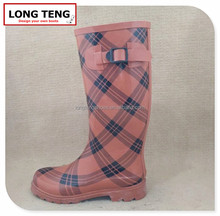 Made in china factory orange rubber boots printable