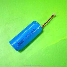 UL UN38.3 Approved icr18500 li-ion battery / 18500 battery /18500 li ion battery pack 1500mah