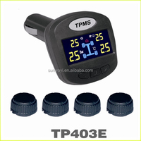 For universal vehicle 4 sensors tpms for toyota tpms tire pressure monitoring system