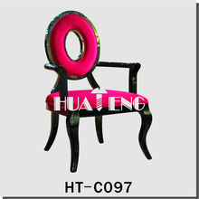 hotel or restaurant wooden or fabric dining chair or armchairs HT-C097