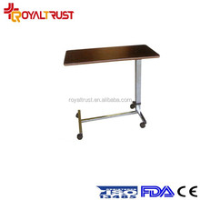 Hospital over bed food table/ dining table
