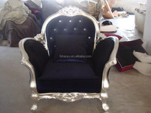 luxury furniture wood sofa/antique sofa/rubber wood furniture