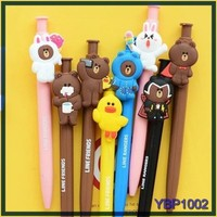 2016 cute animal shaped kids new year gifts promotional cheap wholesale ballpoint pen