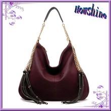 2015 Alibaba China New style fashion women pu handbag