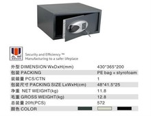 Hotel safes with electronic lock