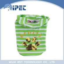 2015 hot sale high quality nice durable green dog clothes