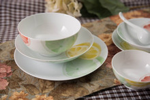Home and restuarant use easter dinnerware set