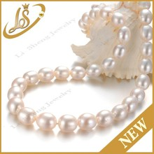 Loose white charming pearl type material freshwater pearl