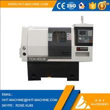 HHT Brand CNC horizontal Lathe Machine price TCK40LM