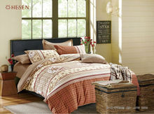 Cotton duvet cover pigment fitted sheets pillowcase