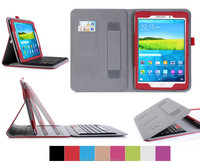 Magnetically removable wireless keyboard leather case for Samsugn Tab A 9.7 inch