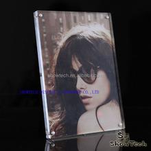OEM acrylic frame, clear acrylic photo frames wholesale, hot sexy girl picture pop acrylic photofunia photo ST-PFSM5070-03