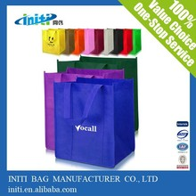 Hot sale fashion quality custom made shopping bag non woven
