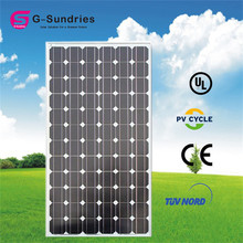 Low price hot sale mono solar panel 75w