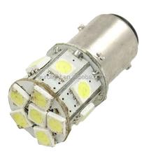 RV LED Light interior lamp 12V DC lighting 1157 BAY15D White 5050 13-SMD LED Strob Flash Brake Tail Stop Light Lamp Bulb
