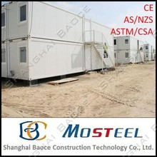 20 and 40 ft shipping steel container house with all functions for sale