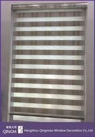 Anti-UV Sunscreen 5-Folded Shiner Zebra Blind Plastic Ball Roll Chain Curtain