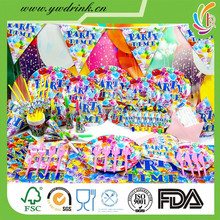 kids themed birthday party supplies in china