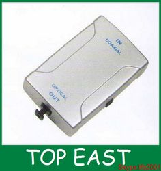 High quality optical coaxial converter RCA TO TOSLINK JACK