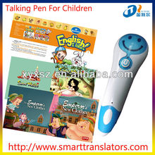 new products Fairy Tales Baby learning talking pen with Malaysian