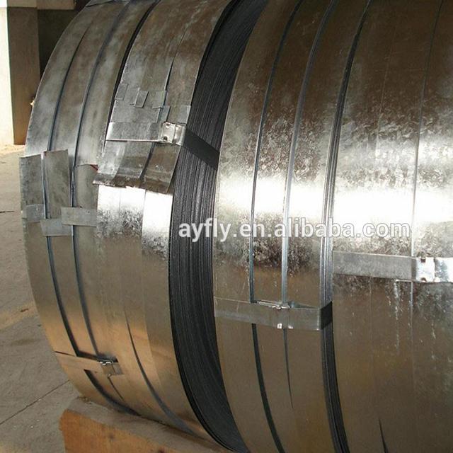 CCS Çelik Plaka Soğuk Haddelenmiş Balyalama Için Galvanizli Çelik Şerit