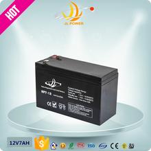 JL ISO9001 CE FCC MSDE 12v 7ah ups accumulator rechargeable accumulator 7ah battery recharge pack 12 volt