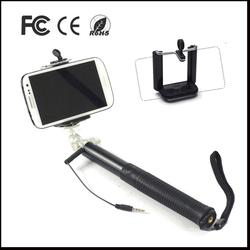 Fold aluminum smart phone holder