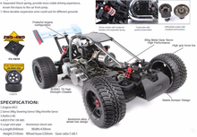 1/5th Scale RC 2WD Gas Buggy Car 4G GT2 Controller 30cc Engine FS-10203