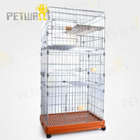 Good quality dog cage toilet crate stainless steel