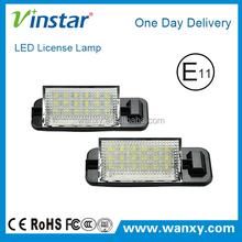LED License plate light LED licence number frame lamp Led Tail License Light for BMW E36 1992-1998 year